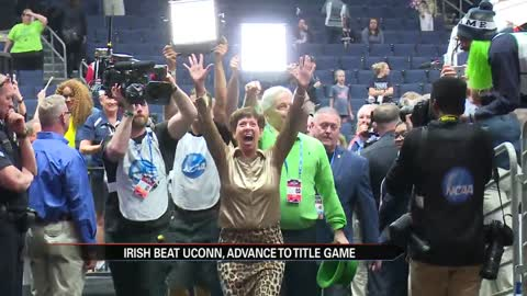 Irish beat UConn, advance to title game